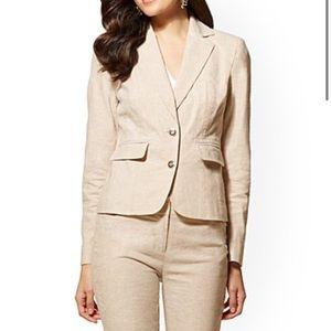 2 Piece NY & Company Women's Tan Suit